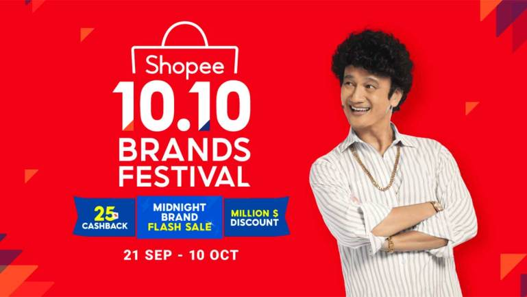 Shopee enhances support for brands to scale and succeed online, starting with its annual 10.10 Brands Festival