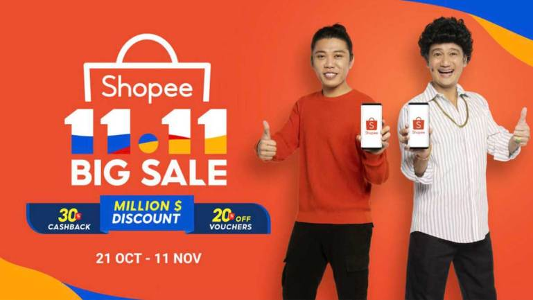 Shopee kicks off 11.11 Big Sale, aims to make e-commerce for everyone