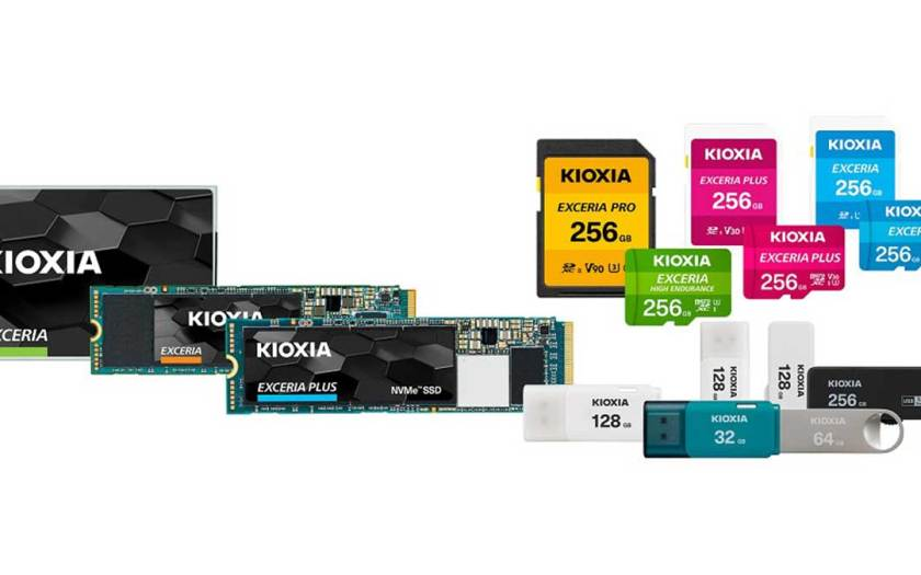 Kioxia Corporation Announces Launch of New Brand Consumer Product Portfolio