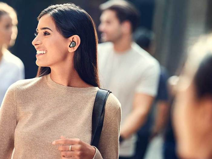 Jabra's Elite 85t earbuds lets users have control over ambient noise blocking