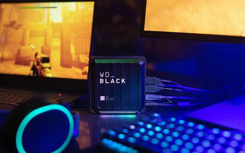 (WD_BLACK D50 Game Dock NVMe SSD)