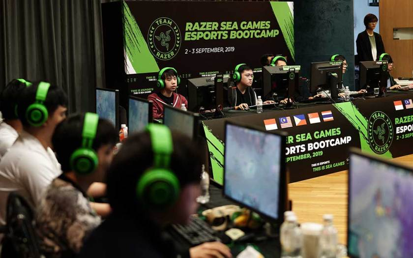 RAZER GEARS UP FOR SEA GAMES 2021 ESPORTS EVENT