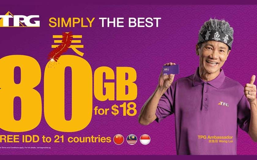 TPG launches $18 for 80GB SIM-only plan to connect families during the upcoming festive season