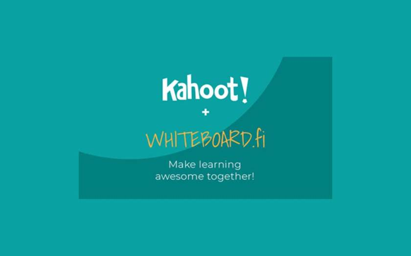 Kahoot! acquires Whiteboard.fi to provide more powerful and engaging learning tools for all educators