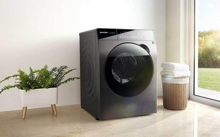 SHARP's New Front Load 2-in-1 Washer Dryer Features Dry AirWash Function to Clean Soft Toys, Cushions, Duvets and more