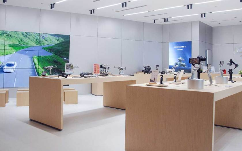 A Brand-New Shopping Experience Takes Flight at DJI's New VivoCity Outlet