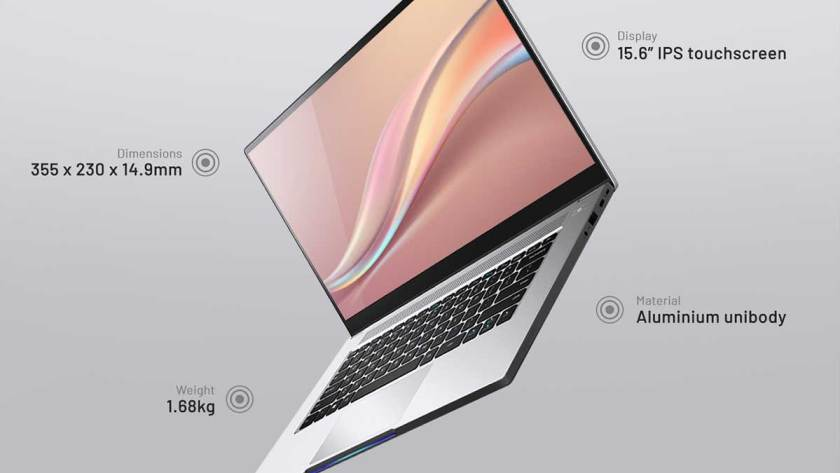 Dreamcore unveils first laptop, Dreambook Touch 15