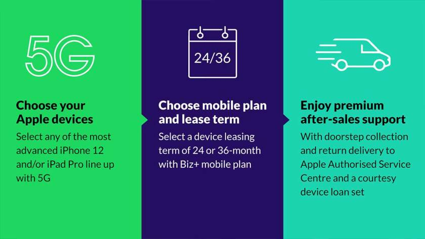 StarHub Pioneers Managed Service for iPhone 12 and iPad Pro Devices with 5G Digital Workplace