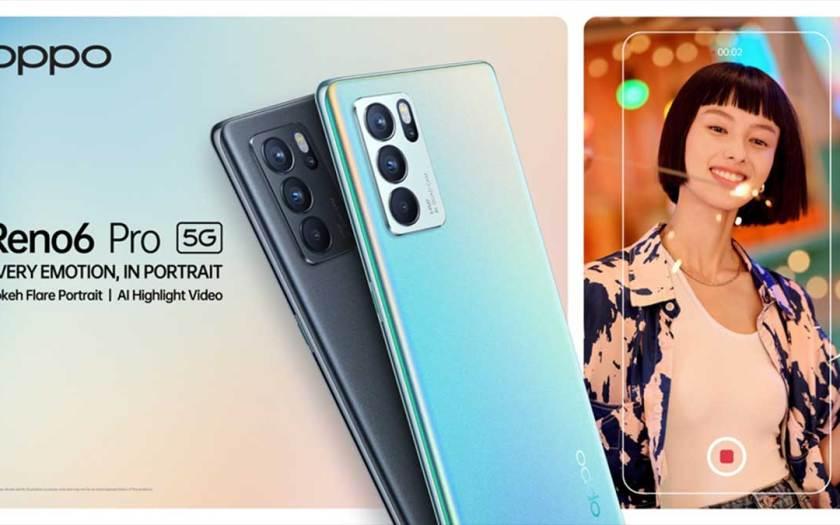 OPPO Unveils Reno6 Pro 5G, the AI Portrait Video Expert for the Ultimate Portrait Video Experience