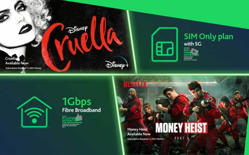StarHub Launches First-Ever Bundle Pairing Mobile SIM Only with Broadband, Disney+ and Netflix