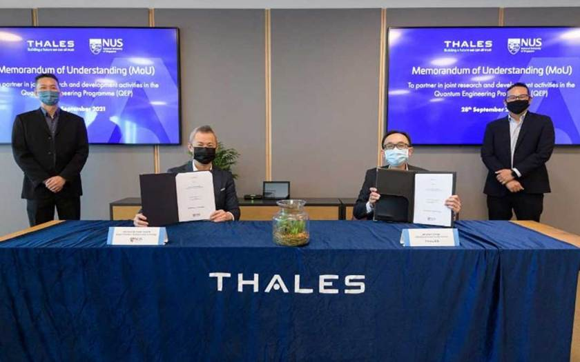 New partnership between QEP and Thales to spur innovation in quantum security and quantum sensors