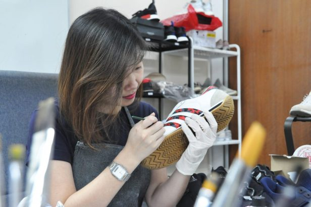 Customisation at Shoe Mo