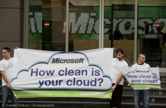 Microsoft, πόσο καθαρό είναι το σύννεφο σου;