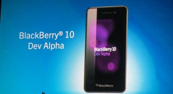 BlackBerry 10 smartphone, είναι ακόμα στη πρώτη του έκδοση