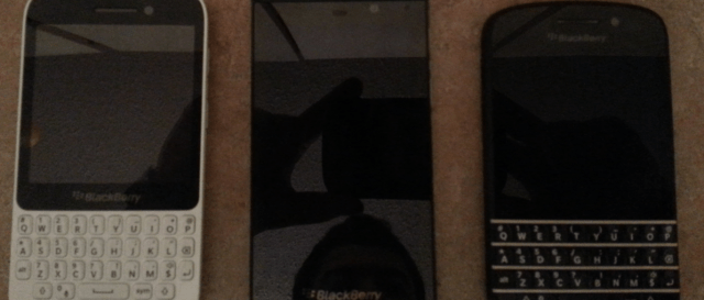 BlackBerry 10 QWERTY touch smartphone leaked