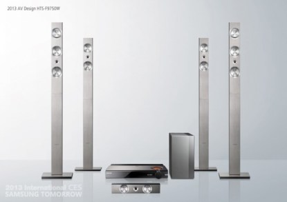 Samsung 7.1 Channel Home Theater System HT-F7950W