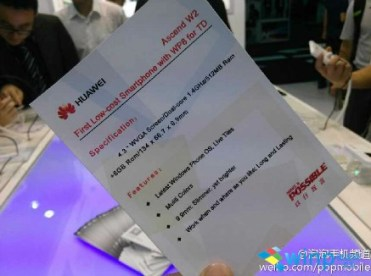 Huawei Ascend W2 Showcased In China (3)