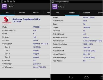 Nexus 7 2nd Gen Specs