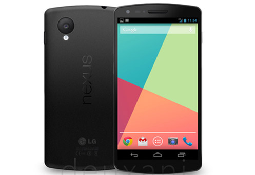 LG Nexus 5 Official Render leak