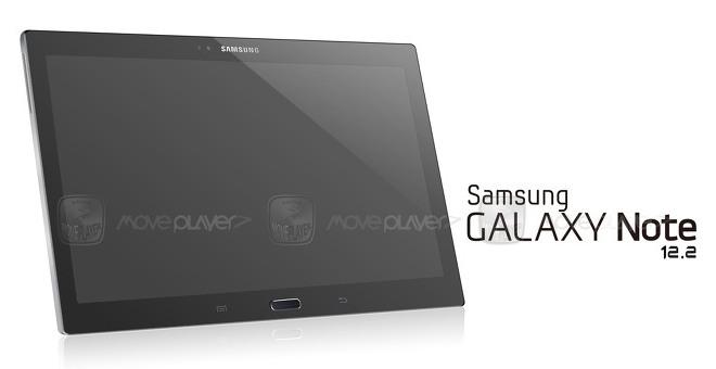 Samsung Galaxy Note 12.2 image leak