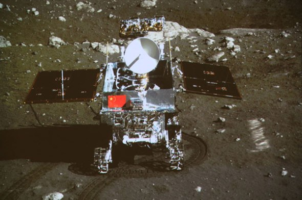 Το διαστημικό σκάφος Chang'e 3 από τη Κίνα