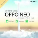 Το Oppo Neo Έρχεται Σύντομα Με Αναγνώριση Χειρονομιών