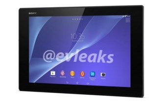 Sony XPERIA Z2 Tablet leak