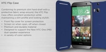 HTC One M8 HTC Flip Case