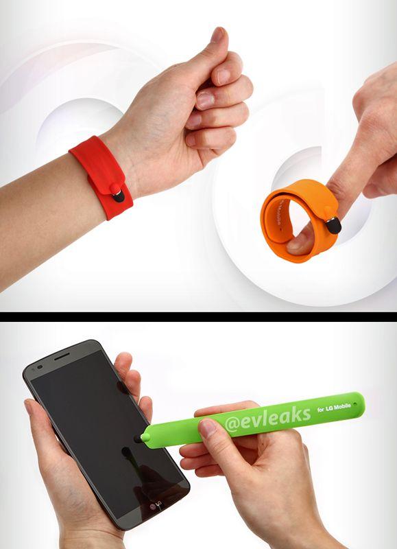 LG stylus bracelet