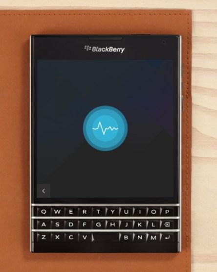 BlackBerry Assistant on Passport