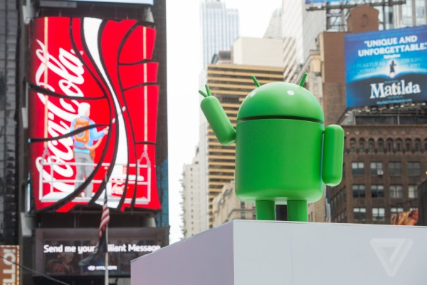 Google s massive Android billboard ad