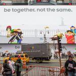 Η Γιγαντιαία, Διαδραστική, Διαφήμιση Του Android Στη Times Square