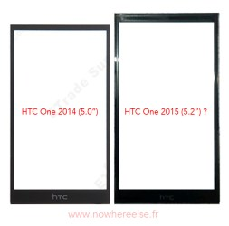Alleged HTC One M9 front panel (2)