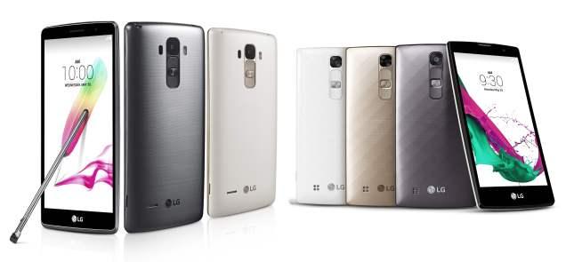 LG G4 Stylus & LG G4c