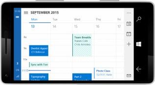 Windows 10 for Phone Calendar (2)