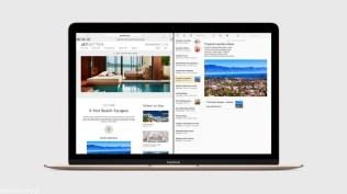 Apple Mac OS X El Capitan Split View
