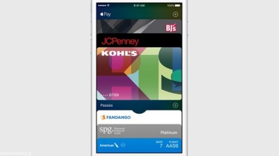 Apple iOS 9 Apple Pay Retail Store Cards