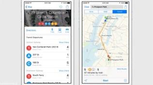 Apple iOS 9 Maps Transit