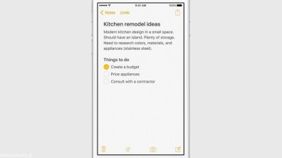 Apple iOS 9 Todo Checklist
