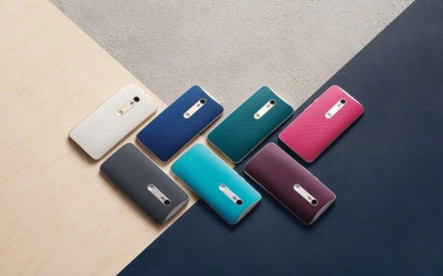 Motorola Moto X Style Colors Back Lifestyle
