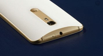 Motorola Moto X Style Golden Back