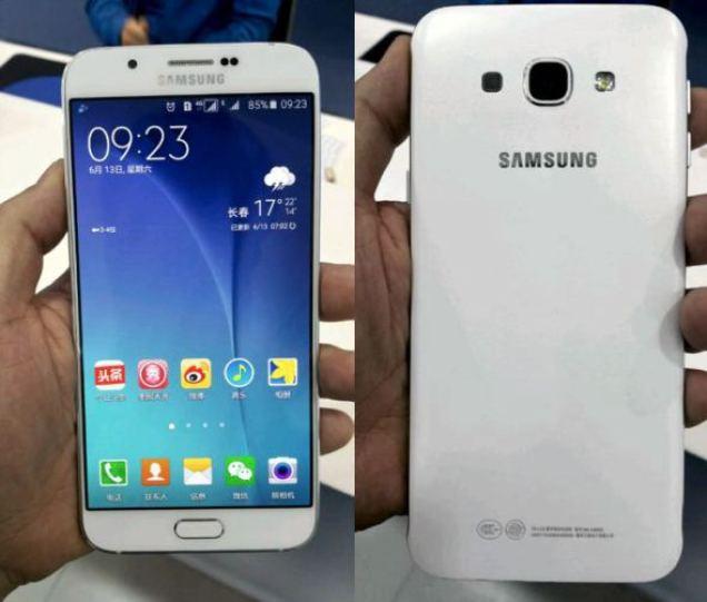 Samsung Galaxy A8 leak