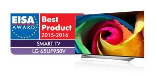 LG PRIME UHD TV 65UF950V EISA Award