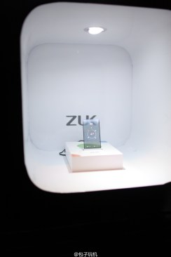 ZUK transparent screen phone prototype 3