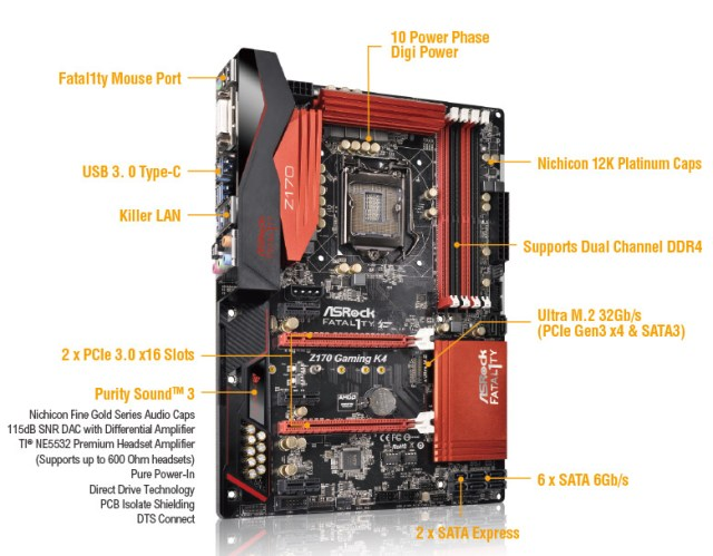 Best Gaming Motherboard for i7 6700k
