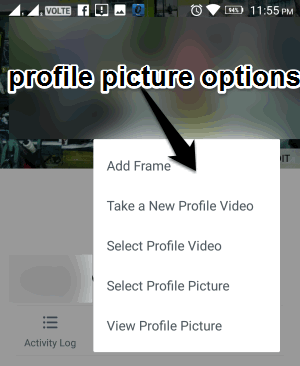 how to add profile picture on bandcamp