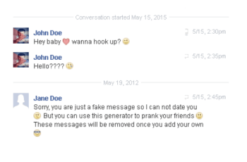 How to make a fake Facebook chat to play a prank feat