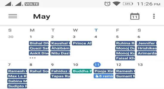 Sync Facebook Birthdays with Google Calendar