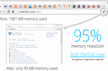 How to Merge All Active Tabs of Chrome in a Single Tab to Save Memory
