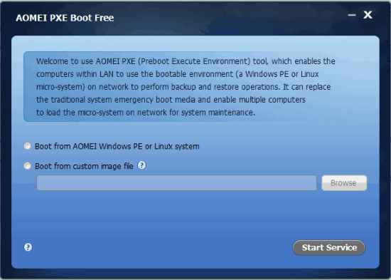 pxe boot windows 10